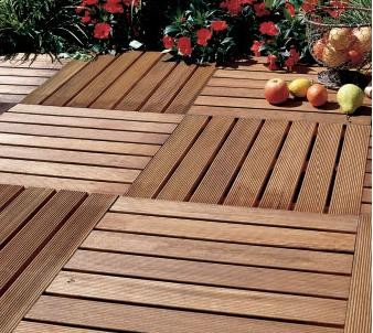 wooden tiled flooring