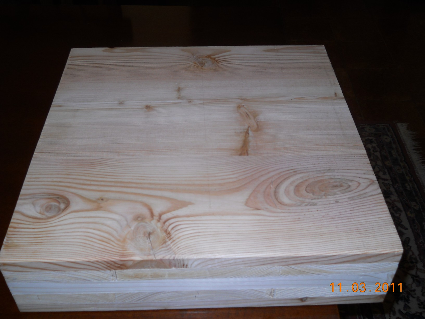 Wall in cross Laminated wood